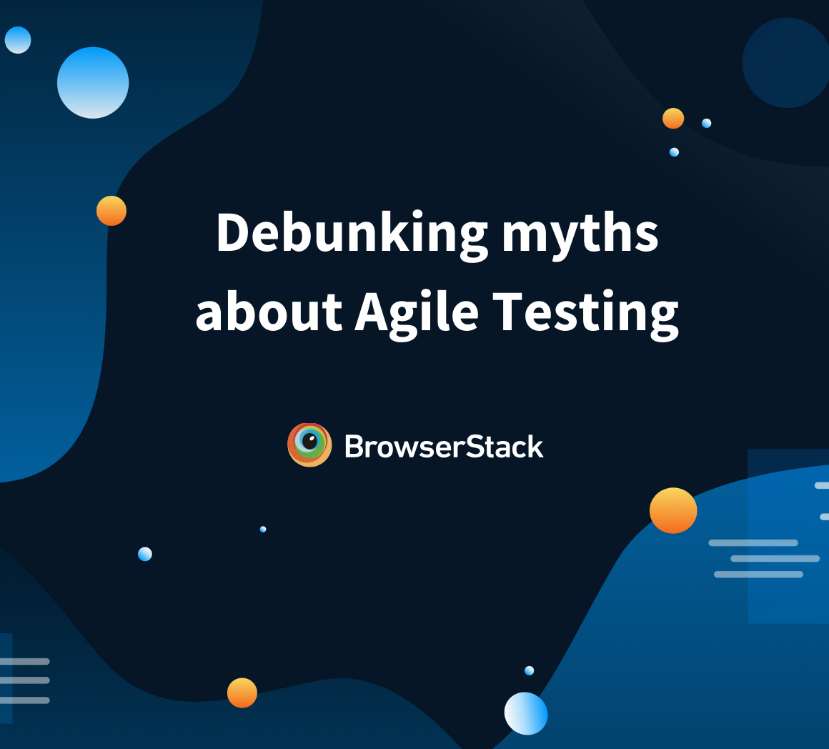 Myths about agile testing