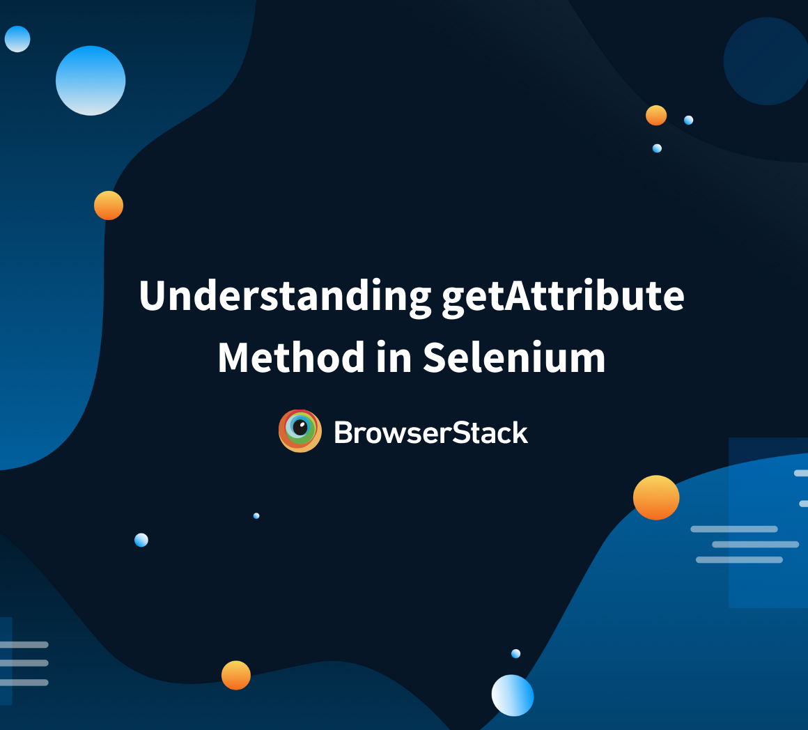 getAttribute method in Selenium