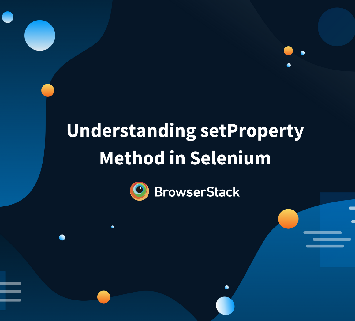 setProperty in Selenium
