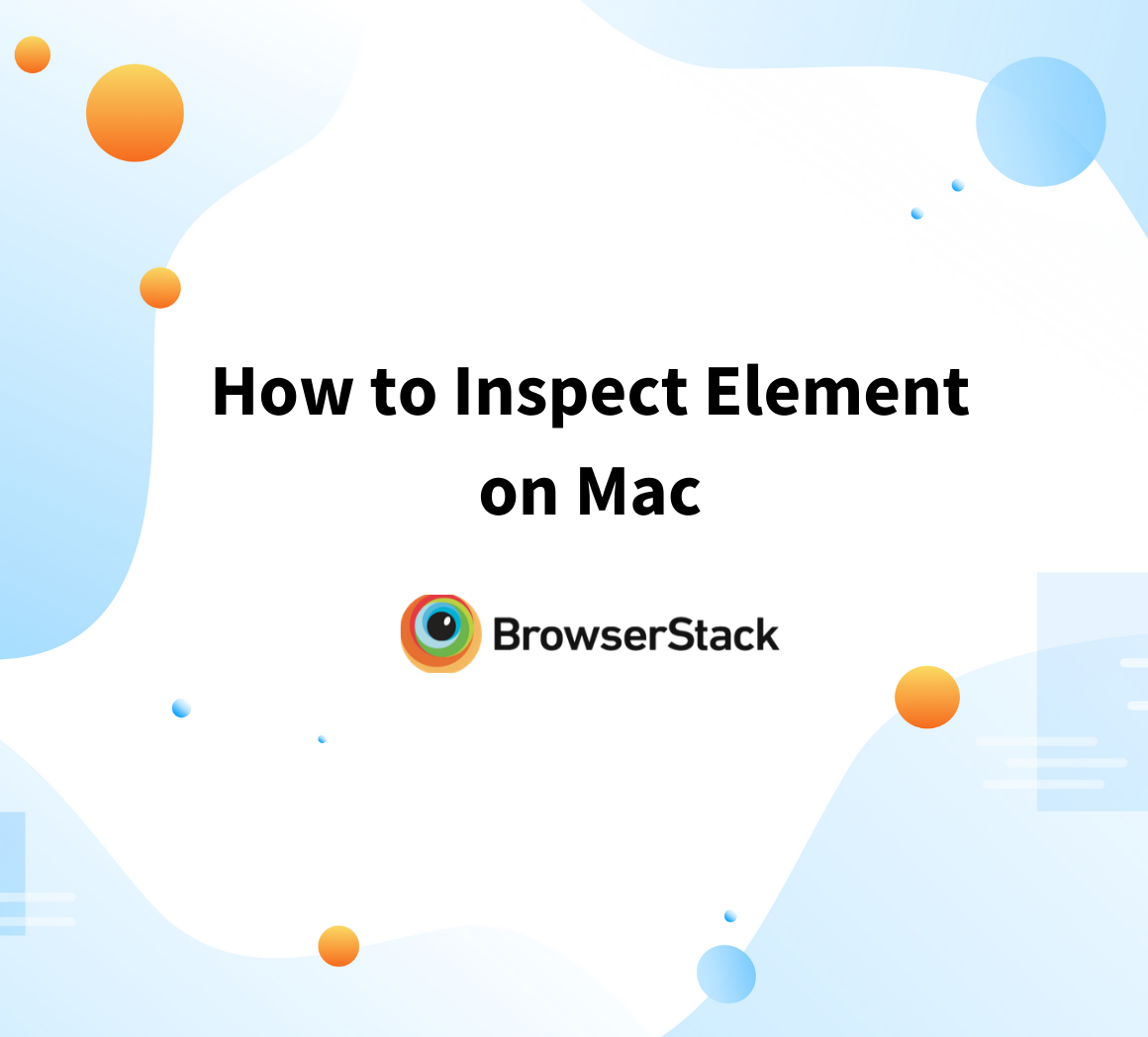 How to Inspect Element on Mac