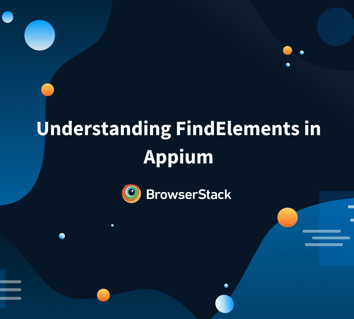 findelement and findelements in Appium