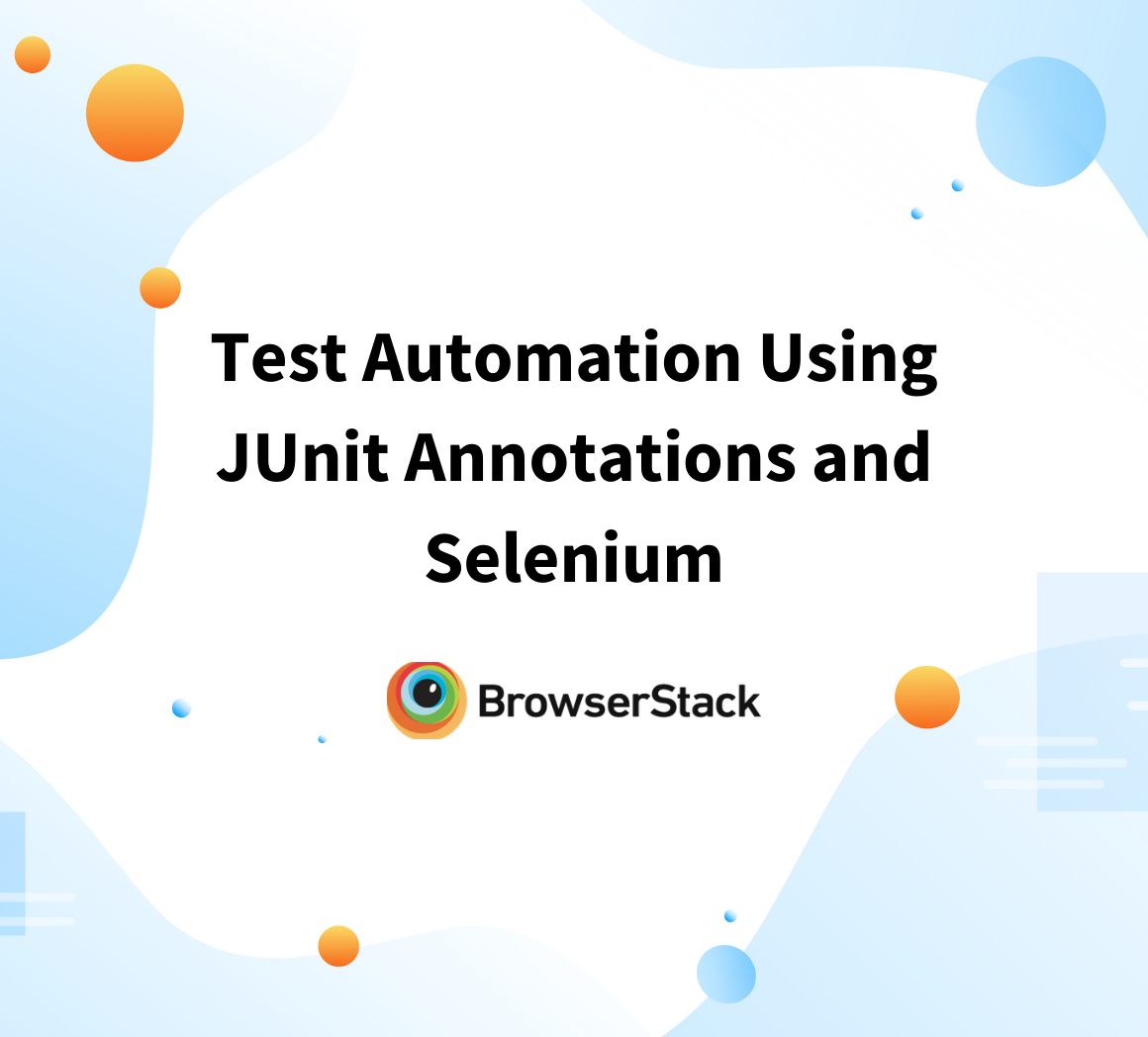How to use Selenium and JUnit