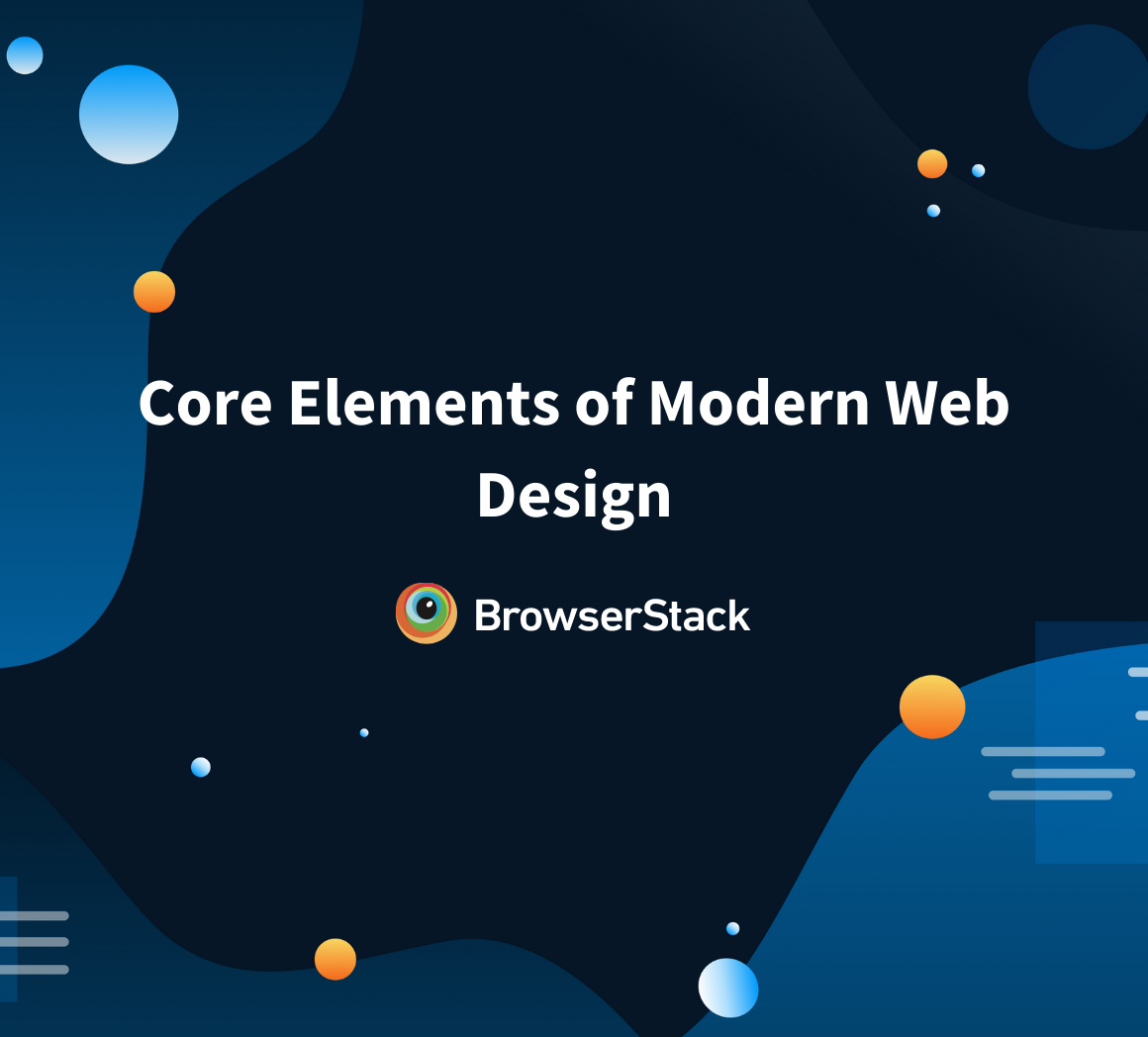 Essentials of modern web design