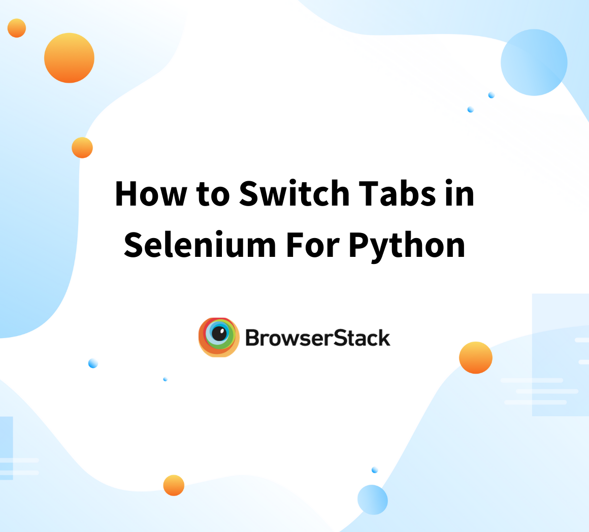 How to switch tabs in Selenium for Python