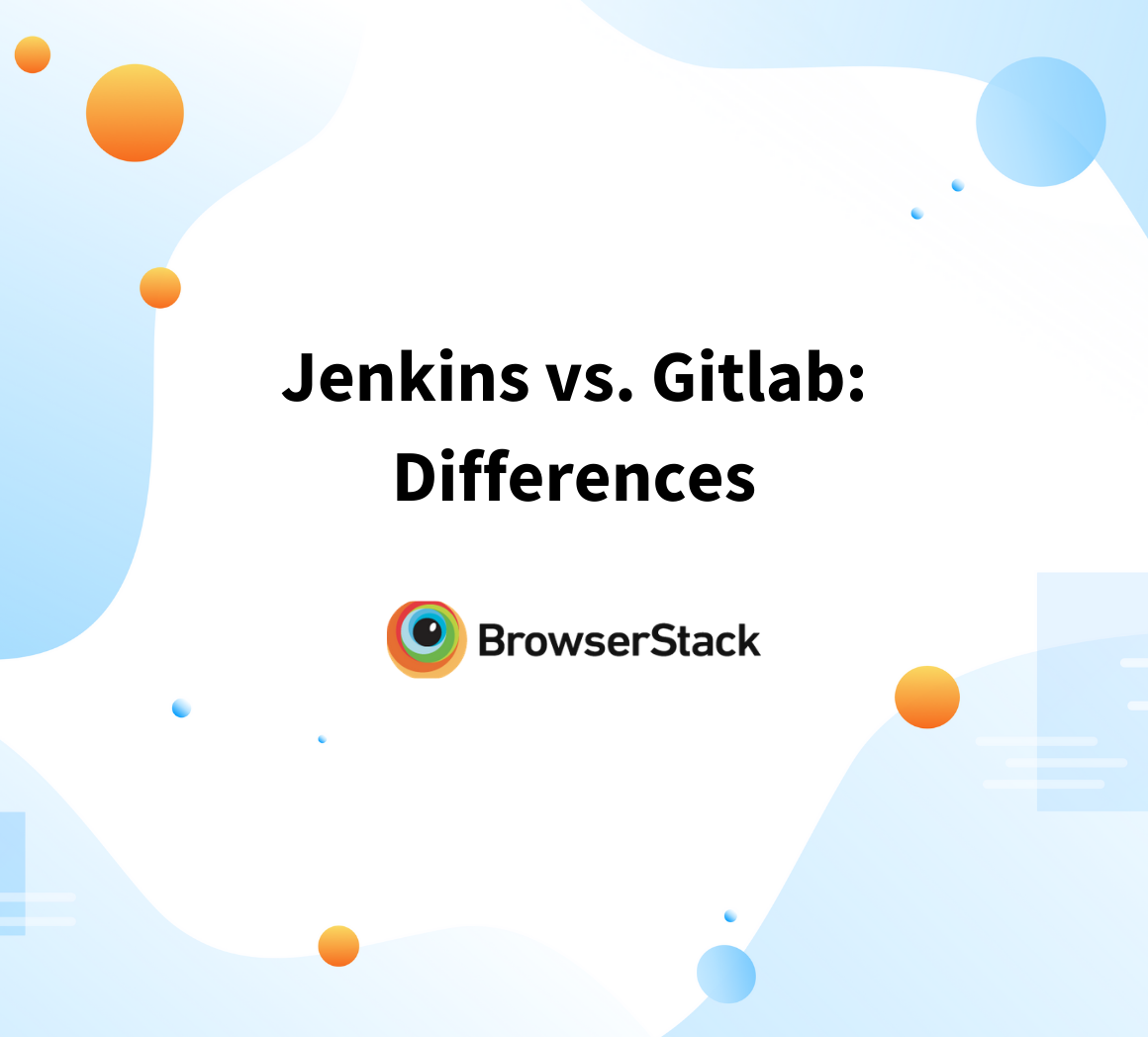 Jenkins vs Gitlab: Differences
