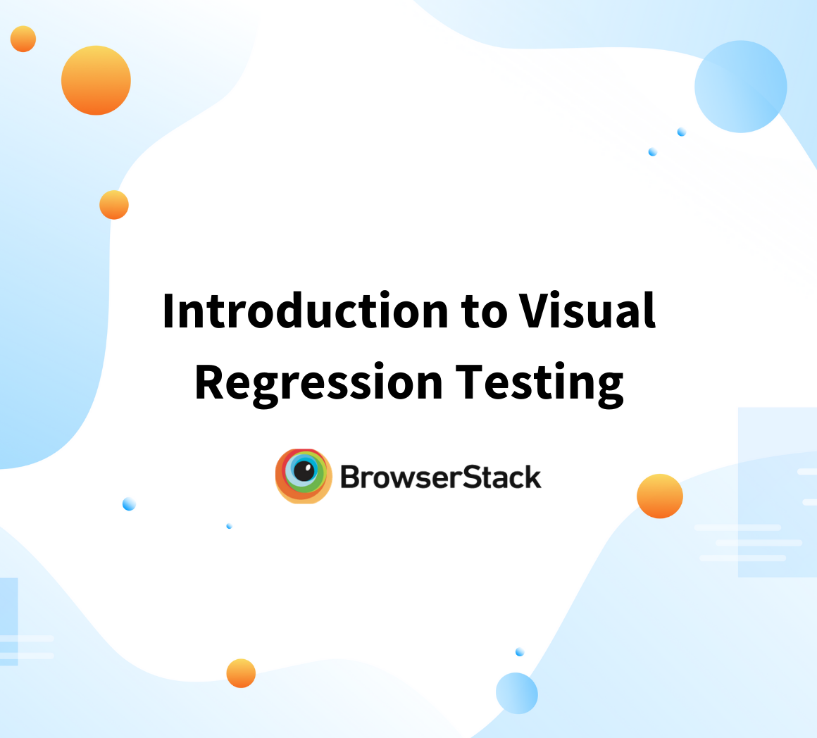 Visual Regression Testing 101
