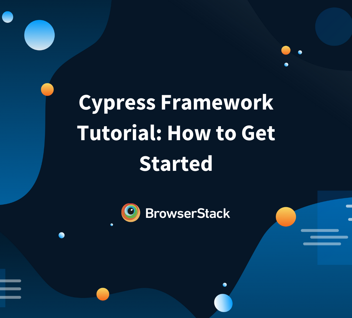 How to start with your first Cypress script