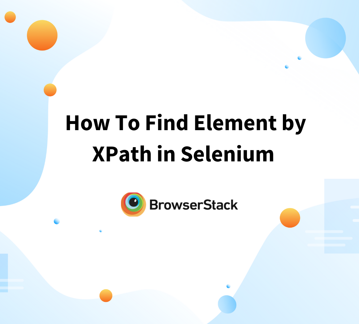 How to find element by XPath in Selenium