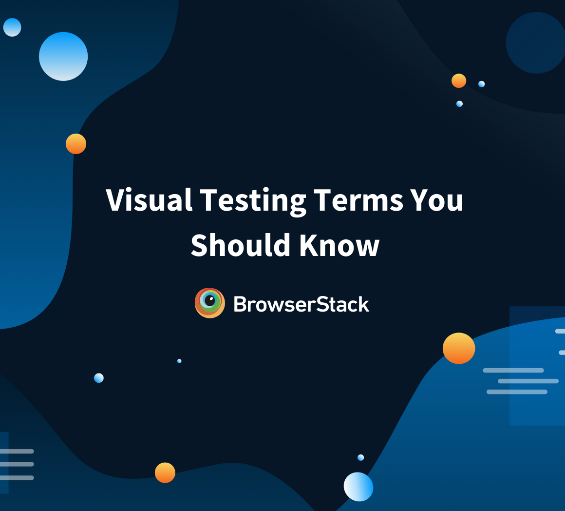 Common Terms in Visual Testing