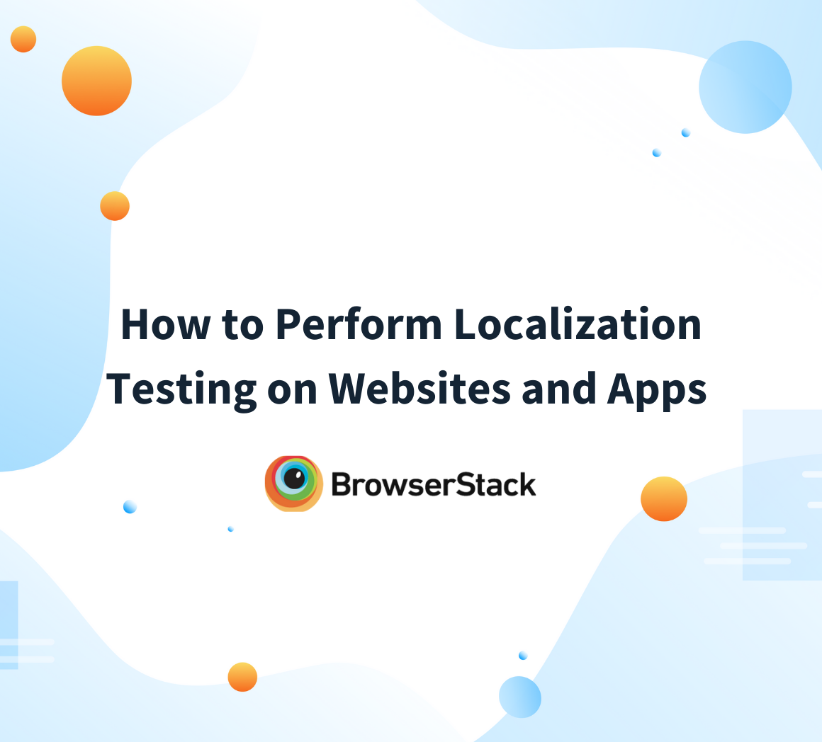 Beginner's Guide to Localization Testing