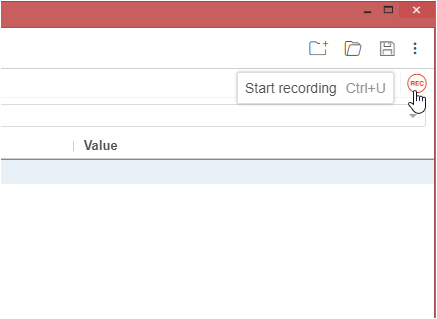 Start Record and Playback in Selenium