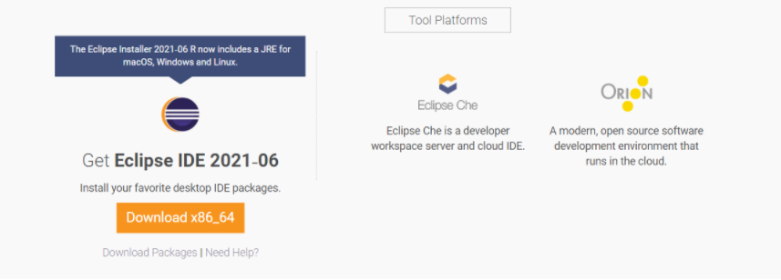Install Eclipse IDE