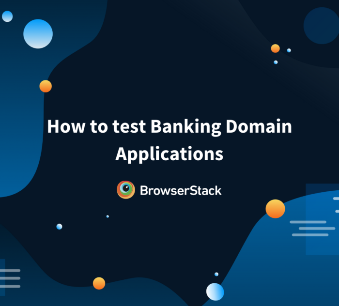 Test Banking Apps 101